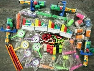50 Kids Unisex Assorted Party Bag Fillers/Lucky Dip Prizes Pocket Money Toys