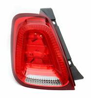 Rear Taillight Lamp Tail Light LEFT LH Abarth 500 595 Fiat 500 52007424