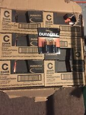 Duracell Alkaline Batteries, C2, 8 cards Double Packs, 16 total Expires 3/2027