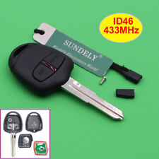 Hot Remote Key Fob 2Button 433MHz ID46 Chip for Mitsubishi Lancer Outlander Left