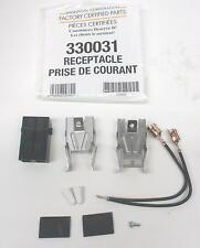 WP330031 Genuine Whirlpool Kenmore FCP Electric Range Burner Receptacle Blocks