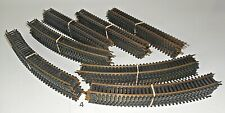 Large 70 Piece Lot of HO Gauge  40 CURVES 30 STRAIGHTS SNAP-TRACK  TYCO ATLAS 4