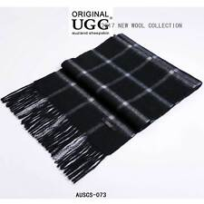 UGG AUZLAND Pure Wool Scarf with Fringe Wrap,168CM x 30CM, Soft AUSCS-073