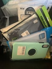 Bulk Wholesale Lot of 25 Mixed Cell Phone Cases and Accessories Assorted