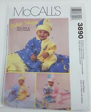 OOP McCall's Pattern3890 Uncut, Baby's Polar Magic-Nancy Cornwell Outfits 2002