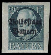 "BAVARIA 161 (Mi121B) - King Ludwig III ""Volksstaat Bayern"" (pa70409)"