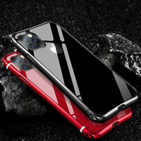 For iPhone 11 XS Max XR 8 7 Aluminum Metal Shockproof Hard Protective Case Cover