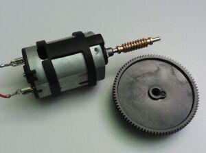 12V 24V DC Motor with brass worm gear worm drive POM worm wheel astro mount