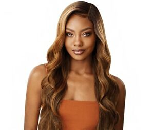 *Limited Time Only* OUTRE Color Bomb Synthetic Swiss Lace Front Wig - KIMANI
