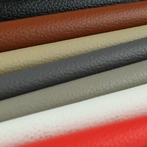 Marine Vinyl Upholstery Faux Leather Craft Fabric Furniture Sofa Restore Replace