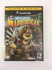 Madagascar (Nintendo GameCube, 2005) Player's Choice DreamWorks Parent's Choice