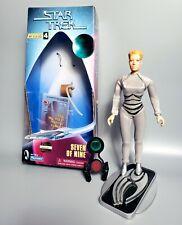 "1997 Star Trek Voyager Seven of Nine 9"" Figure - Playmates Warp Factor Series"