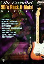 GUITAR TAB / TABLATURE / TESTAMENT - PANTERA - ANTHRAX - DREAM THEATER - & MORE