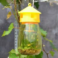 Fruit Fly Catcher Trap Reusable Bottle Bait Lure Insect Flies Pest Control Tool