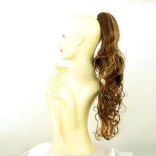 Hairpiece ponytail long wavy golden brown wick  25.59 ref 6/6bt27b peruk