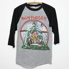 Iron Maiden Shirt Vintage tshirt 1984 Chicago Mutants Rule Powerslave Tour Metal