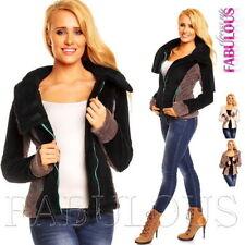 Unbranded Women's Polyester Fleece Coats & Jackets