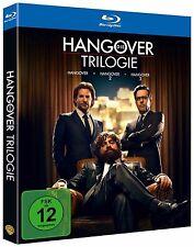 DIE HANGOVER TRILOGIE (Bradley Cooper, Ed Helms) 3 Blu-ray Discs NEU+OVP