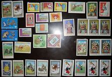 Postage stamps Mongolia 120+ pieces