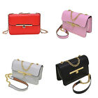 New Women PU Leather Handbag Shoulder Bag Messenger Satchel Tote Purse