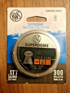Umarex USA / RWS Pellets .177 SuperDome 8.3 gr Field Line 300-PACK mfg 2317406