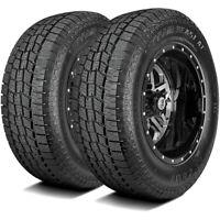 2 New Lexani Terrain Beast AT LT 235/80R17 Load E 10 Ply A/T All Terrain Tires