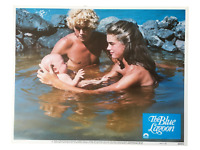 """The Blue Lagoon"" Original 11x14 Authentic Lobby Card Photo Poster 1980 #8"