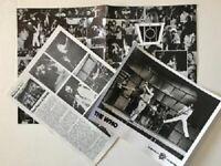 The Who Promo Press Photo Lot 1970's