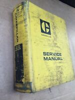 Caterpillar Oem 631-633 Tractor Scraper Service Manual. Cat Factory Manual.