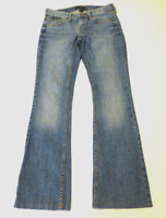 Banana Republic Womens Size 25/0 Hemmed Boot Cut Blue Jeans Great Condition