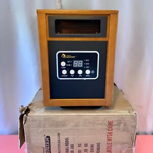 Dr. Infrared Heater DR-968 Portable Space Heater Quiet Fan 1500W - NO REMOTE