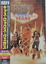 KISS - Rocks Vegas Nevada  JAPAN BLU-RAY + 3 CD + T-SHIRT BOX NEU