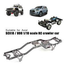 RC Car 3K Carbon Fiber Car Frame Parts For 1/10 Axial SCX10 / D90 Crawler Truck