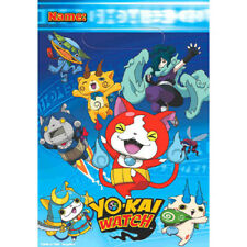 YO-KAI WATCH FAVOR BAGS (8) ~ Birthday Party Supplies Plastic Loot Goody Anime