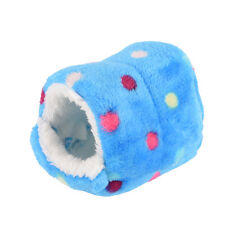Small Animal Bed Cave Warm Cute Nest For Hamster Guinea Pig Squirrel Hedgehog LD