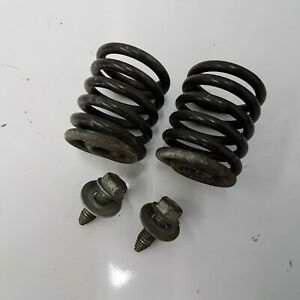 """Craftsman 6sd 42"""" seat springs (pair) with mounting bolts 587613301/124151X"""