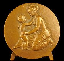 Médaille 72 mm amour maternelle mère & enfant maternal love mother & child Medal