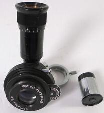 Leitz SP-Reflex 1/3x microscope camera adapter Prontor shutter Periplan eyepiece