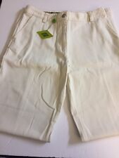 OILILY Woman's Damir Ivory/ Off White Cotton Pants 6(US) 36(EU) NWT