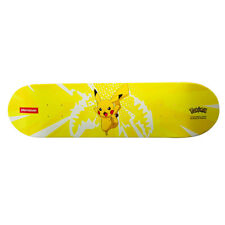 Sprayground New Unisex Pikachu Electric Shark Skateboard Deck Yellow Bnwt