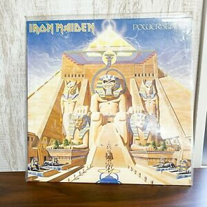 IRON MAIDEN POWERSLAVE EMI EMS-91091 Japan VINYL LP RECORD