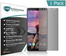 """Slabo Blickschutzfolie für HTC U12+ SCHWARZ """"View Protection"""""""