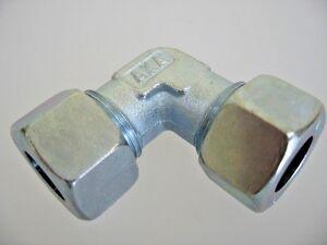 ERMETO Schneidring Verschraubung Öl-Leitung und Druckluft