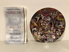 The Ryan Story From The Nolan Ryan Salute Plate Collection Hamilton Collection!