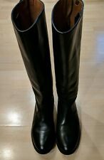 Frye Black Button Back Zip Boots Size 7M