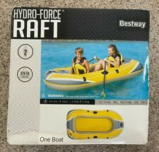 Bestway Hydro Force Inflatable Raft  Yellow - New
