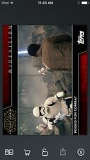 Topps Star Wars Digital Card Trader Poised For Combat Widevision Insert