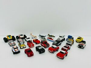 Vintage Micro Machines Lot of 26 Lewis Galoob 1986 1987 1988 Cars Planes Boats