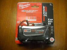 Milwaukee 48-11-1850 18V 5.0 AH Battery M18 18 Volt XC 5.0 Red Lithium NEW I