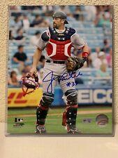 Jason Varitek Signed Boston Red Sox 8x10 Photo MLB Authenticated